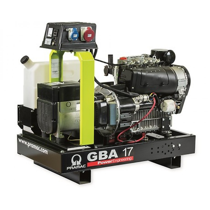 GBA 17 L Ηλεκτρο - Γεννήτρια 17,6 kVA MCP χειροκίνητο πίνακα ελέγχου Panel (ALT.LI) PRAMAC