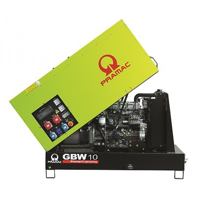 GBW 10 Y Ηλεκτρο - Γεννήτρια 9,3 kVA MCP χειροκίνητο πίνακα ελέγχου (ALT.Li) PRAMAC