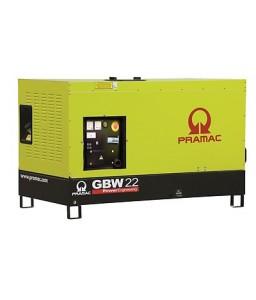GBW 22 P Ηλεκτρο - Γεννήτρια 21,8 kVA ACP Αυτόματο/χειροκίνητο πίνακα ελέγχου (ALT.Li) PRAMAC