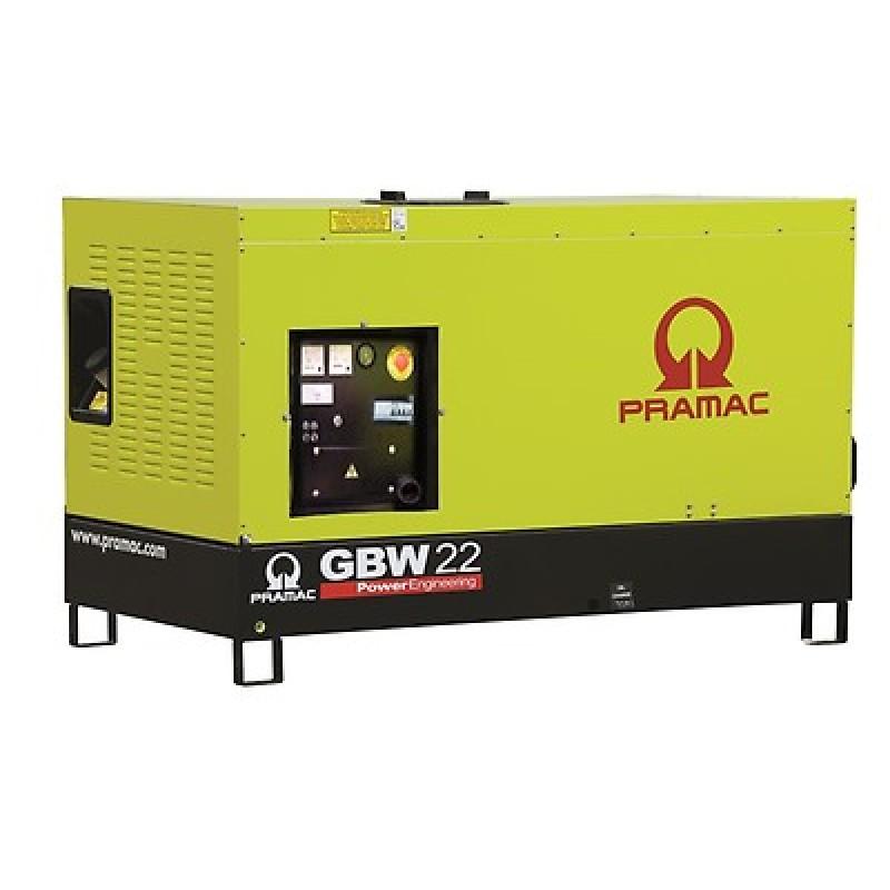 GBW 22 P Ηλεκτρο - Γεννήτρια 21,8 kVA MCP χειροκίνητο πίνακα ελέγχου (ALT.Li) PRAMAC