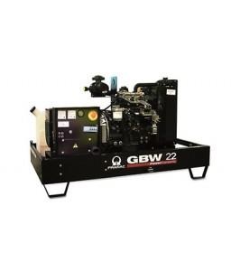 GBW 22 P Ηλεκτρο - Γεννήτρια πετρελαίου ανοικτού τύπου 21,8 kVA ACP Αυτόματο/χειροκίνητο πίνακα ελέγχου (ALT.LI) PRAMAC