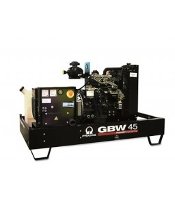 GBW 45 P Ηλεκτρο - Γεννήτρια πετρελαίου ανοικτού τύπου 48,0 kVA ACP Αυτόματο/χειροκίνητο πίνακα ελέγχου (ALT.M) PRAMAC