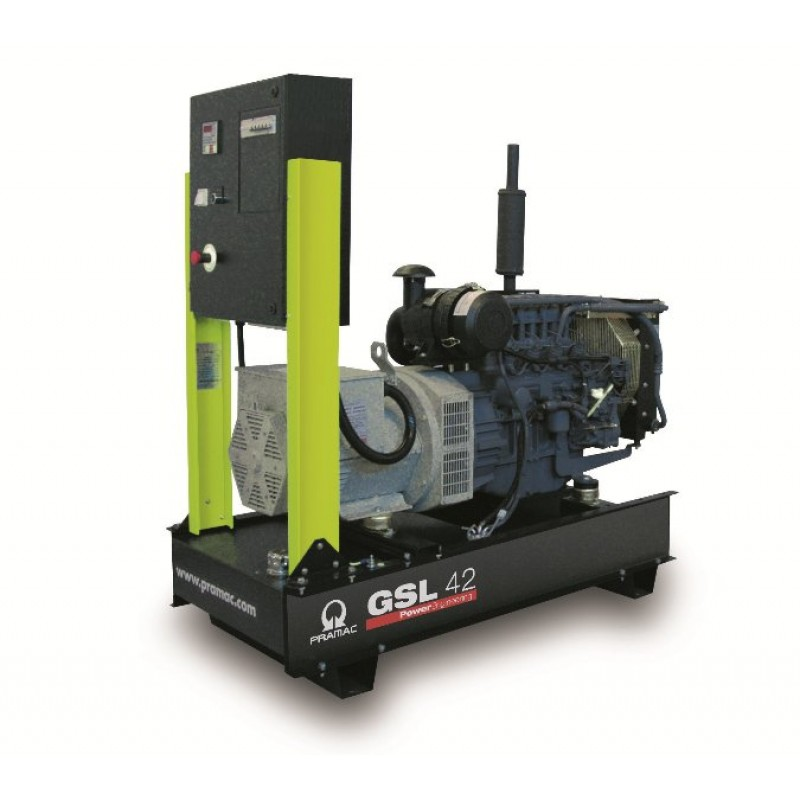 GSL 30 D Ηλεκτρο - Γεννήτρια 32,5 kVA ACP Αυτόματο/χειροκίνητο πίνακα ελέγχου (ALT.M) PRAMAC