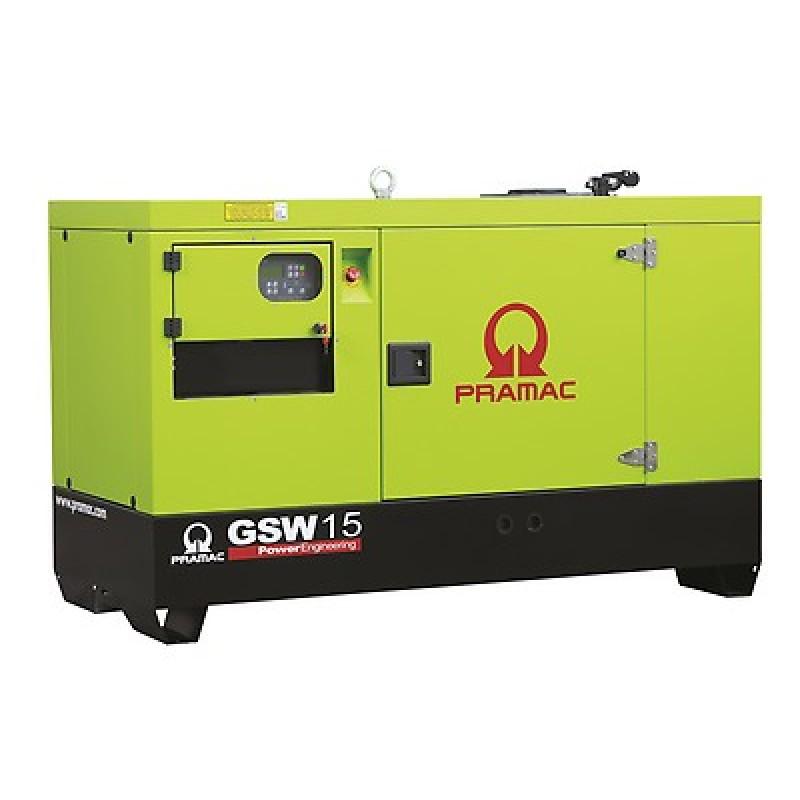 GSW 15 Y Ηλεκτρο - Γεννήτρια 14,5 kVA MCP χειροκίνητο πίνακα ελέγχου (ALT.M) PRAMAC