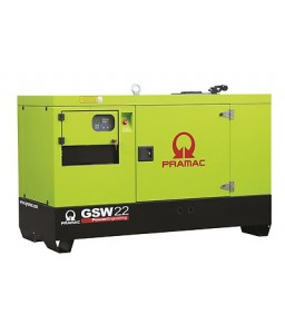 GSW 22 P Ηλεκτρο - Γεννήτρια 21,5 kVA ACP Αυτόματο/χειροκίνητο πίνακα ελέγχου (ALT.M) PRAMAC