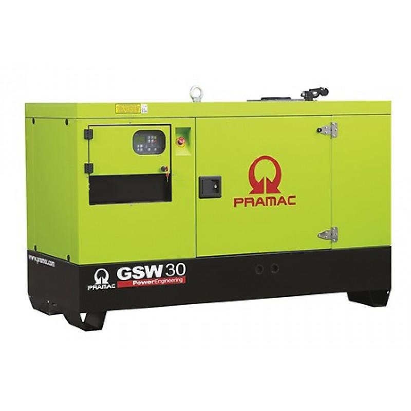 GSW 30 Y Ηλεκτρο - Γεννήτρια 32,5 kVA ACP Αυτόματο/χειροκίνητο πίνακα ελέγχου (ALT.M) PRAMAC