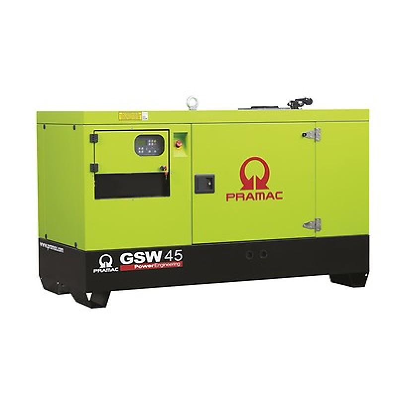 GSW 45 P Ηλεκτρο - Γεννήτρια 48,0 ACP Αυτόματο/χειροκίνητο πίνακα ελέγχου (ALT.M) PRAMAC