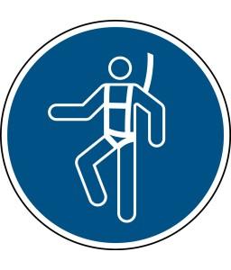 M018 - Να φοράτε ιμάντα ασφαλείας