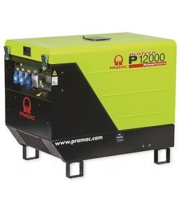 P12000 Ηλεκτρο - Γεννήτρια Βενζίνης 3-Φασική 11,8 kVA Ηλεκτρική εκκίνηση και χειροκίνητο πίνακα ελέγχου CONN ( δυνατότητα σύνδεσης με AMF) + DPP + AVR Honda GX630 PRAMAC