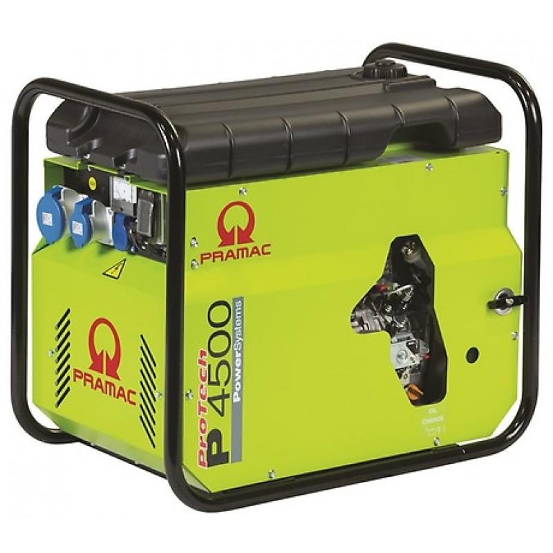 P4500 Ηλεκτρο - Γεννήτρια Πετρελαίου 1-Φασική 3,5 kVA Ηλεκτρική εκκίνηση και χειροκίνητο πίνακα ελέγχου CONN ( δυνατότητα σύνδεσης με AMF) + DPP Yanmar L70 PRAMAC