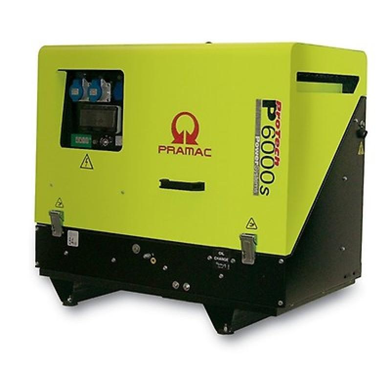 P6000s Ηλεκτρο - Γεννήτρια Πετρελαίου 1-Φασική 4,9 kVA Ηλεκτρική εκκίνηση και χειροκίνητο πίνακα ελέγχου CONN ( δυνατότητα σύνδεσης με AMF) + DPP Yanmar L100 PRAMAC
