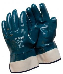 PK 130 Γάντια εργασίας Blue nitrile . POLROK