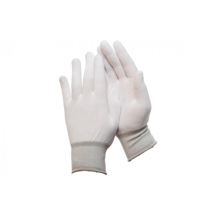 PK 199 Γάντια εργασίας από Άσπρο Nylon POLROK