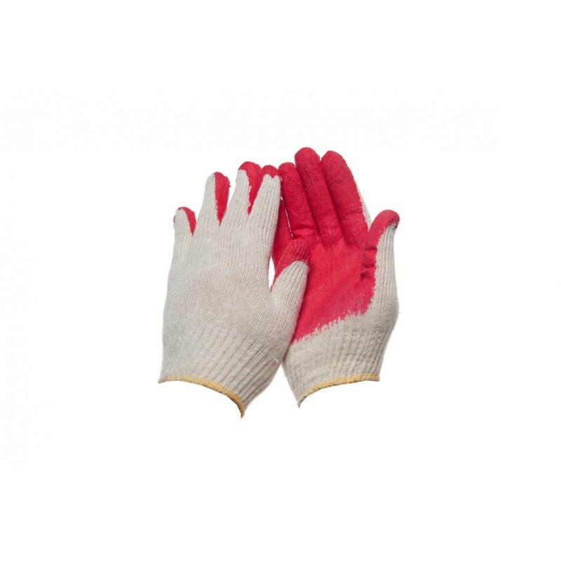 PK 240 L Γάντια εργασίας Βαμβακερά latex παλάμη POLROK