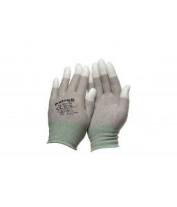 PK 301 W Γάντια εργασίας Αντιστατικά Χαλκού Πολυουρεθάνης (PU) επενδεδυμένα ακροδάκτυλα POLROK