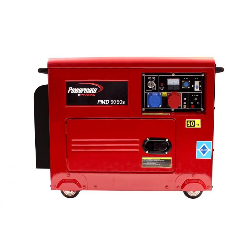 PMD5050s +AVR Ηλεκτροπαραγωγό Ζεύγος (Η/Ζ), 3.7 kW - 4.2 kVA , 3-φασικό, 400/230V, 50Hz, Lifter Engine, Ηλεκτρική Εκκίνηση, Diesel, Ερωπαϊκή Μπαταρία