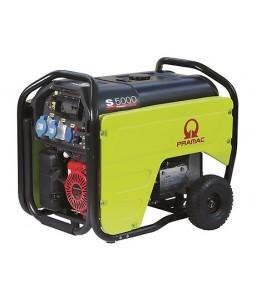 S5000 Ηλεκτρο - Γεννήτρια Βενζίνης 1-Φασική 4,2 kVA Ηλεκτρική εκκίνηση και χειροκίνητο πίνακα ελέγχου CONN ( δυνατότητα σύνδεσης με AMF) + AVR Honda GX270 PRAMAC