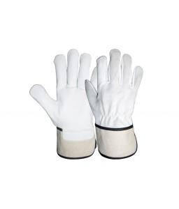 SS 1918 Γάντια εργασίας από Α' ποιότητας Μοσχαρίσιο Δέρμα στην παλάμη και απλό δέρμα στο πάνω μέρος. POLROK