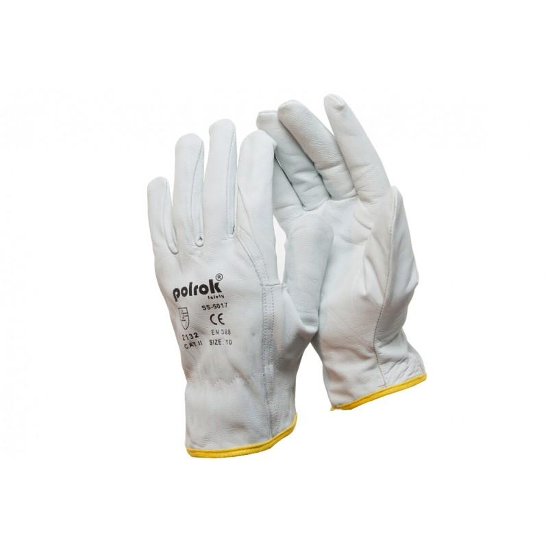 SS 5022 Γάντια εργασίας εξολοκλήρου από Κατσικίσιο Δέρμα Χειμερινά POLROK