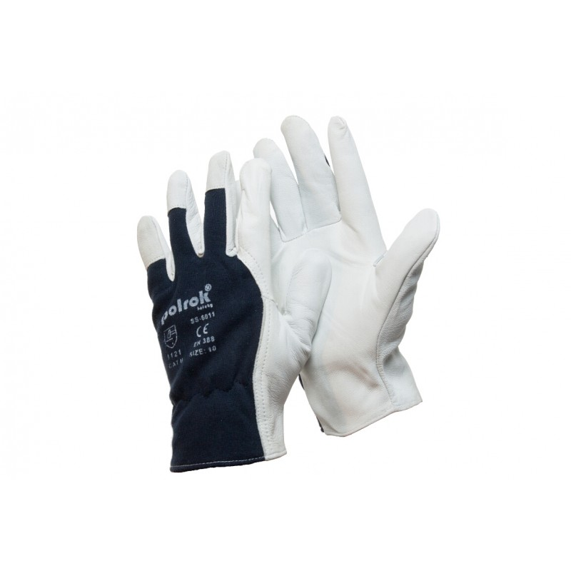 SS 6011 Γάντια εργασίας από Κατσικίσιο Δέρμα POLROK