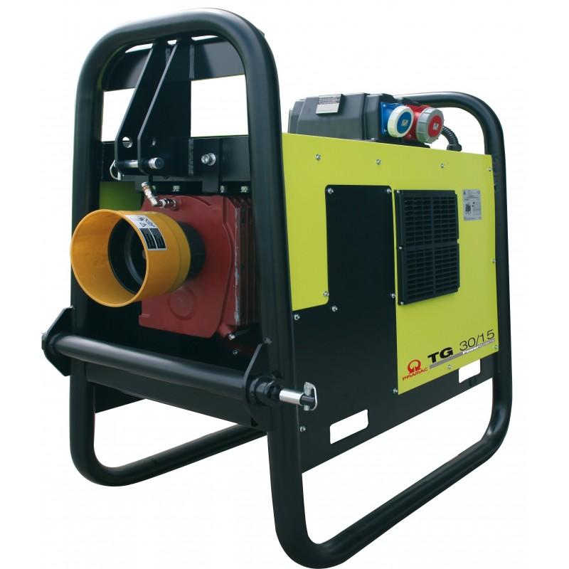 TG25/15 Ηλεκτρο - Γεννήτρια με κίνηση από Ελκυστήρα 22,5 kVA IP 44 + RTE* PRAMAC
