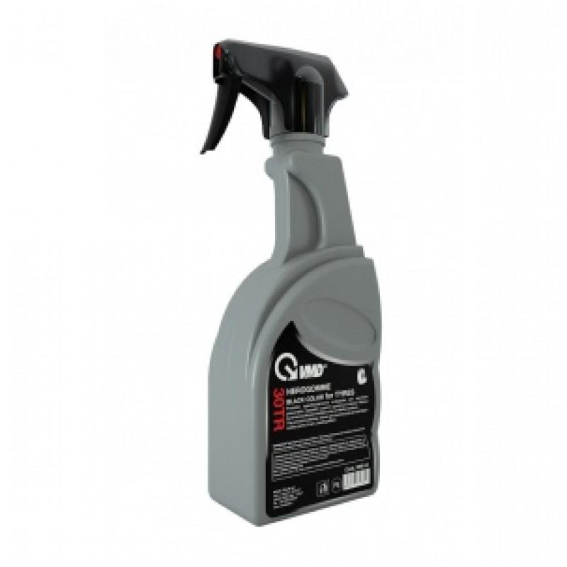 VMD30TR Σπρέι μαύρο, σε δοχείο με σκανδάλη πίεσης για τα Ελαστικά 500 ml
