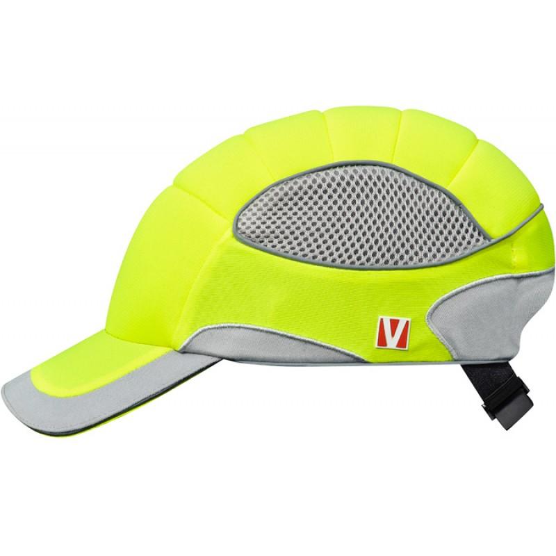 VOSS-Cap pro Καπέλο Ασφαλείας Κίτρινο Προειδοποίησης – Ασημί Γκρί RAL 1026 – 9007 VOSS