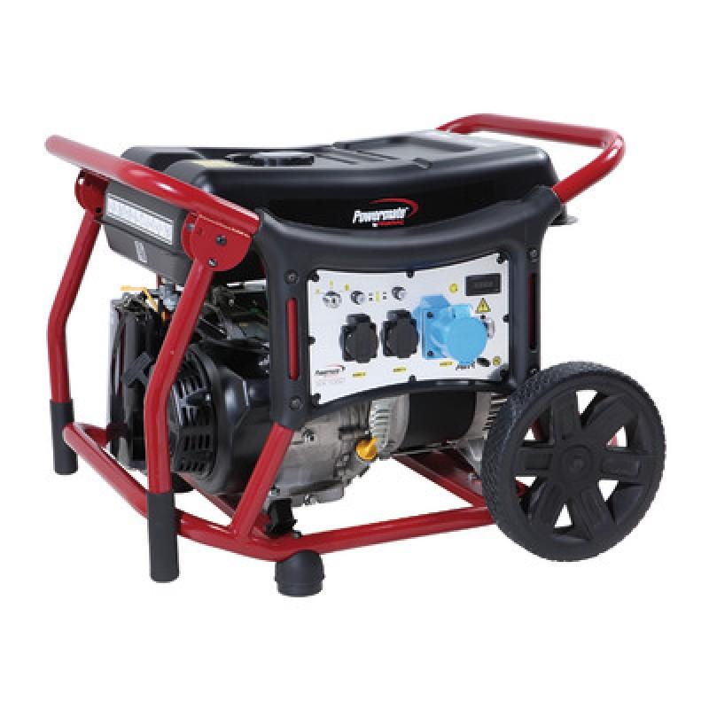 WX7000 Ηλεκτροπαραγωγό Ζεύγος (Η/Ζ) 6.5 kW - 7.2 kVA , 1-φασικό, 230V, 50Hz, AVR, Ηλεκτρική Εκκίνηση, Βενζίνη, Τροχήλατο