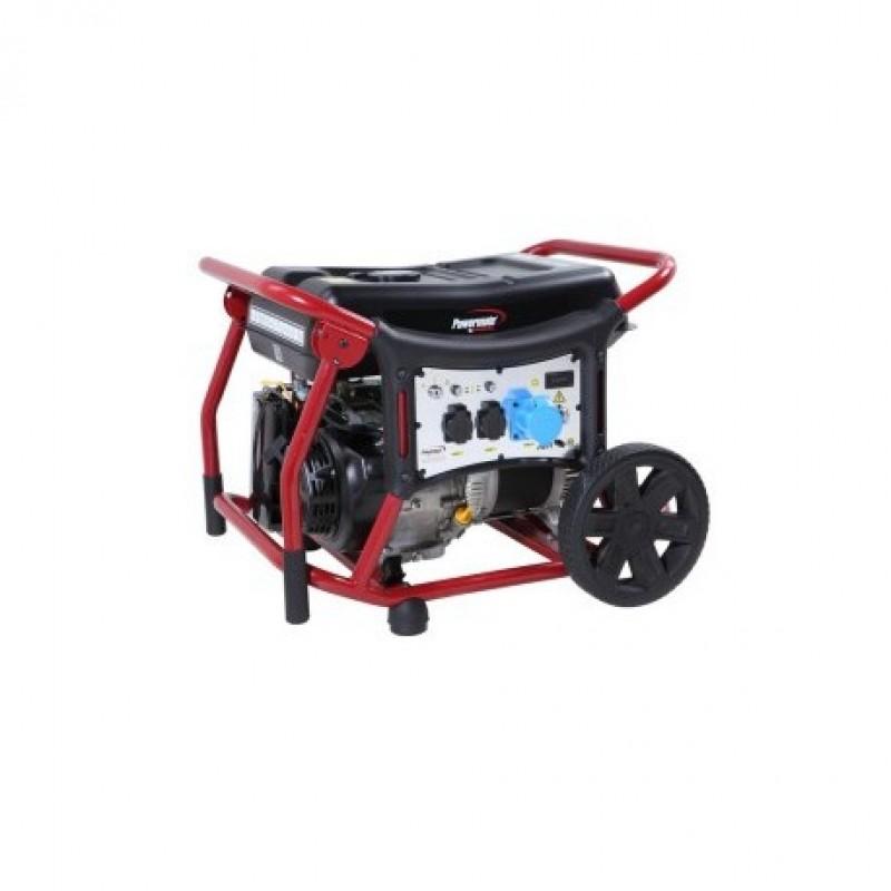 WX6250es Ηλεκτροπαραγωγό Ζεύγος (Η/Ζ), 6.0 kW - 6.7 kVA , 3-φασικό, 400/230V, 50Hz, AVR, Ηλεκτρική Εκκίνηση, Βενζίνη, Τροχήλατο