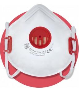 X 210 SV FFP2 NR D Μάσκα μιας χρήσης με βαλβίδα εκπνοής , ρυθμιζόμενα κεφαλοδέματα και 'άνετη' έπενδυση από την πλευρά του προσώπου