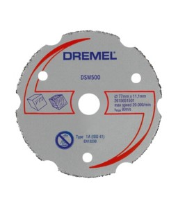 DSM500 - δίσκος κοπής πολλαπλών χρήσεων DREMEL