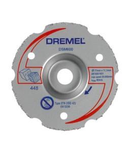 DSM600 - δίσκος κοπής πολλαπλών χρήσεων κουρμπαριστός DREMEL