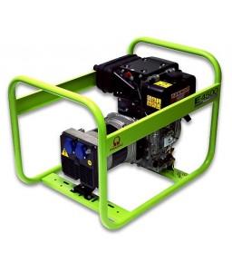 E4500 Ηλεκτρο - Γεννήτρια Πετρελαίου 1-Φασική 3,3 kVA με Χειρόμιζα και χειροκίνητο πίνακα ελέγχου Yanmar L70 PRAMAC