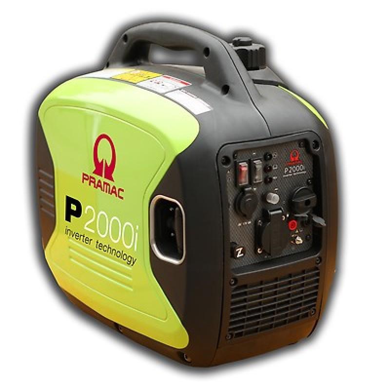 P2000i Ηλεκτρο - Γεννήτρια Βενζίνης 1-Φασική 1,60 kVA με Χειρόμιζα και χειροκίνητο πίνακα ελέγχου INVERTER Yamaha MZ80 PRAMAC