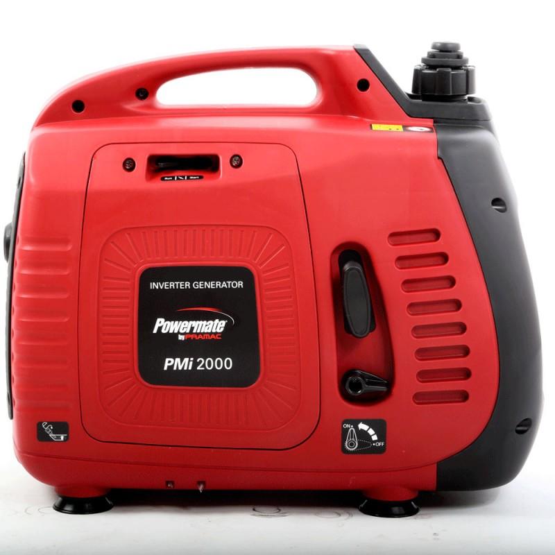 PMi2000 Ηλεκτροπαραγωγό Ζεύγος INVERTER (Η/Ζ), 1600 W , 1-φασικό, 230V, 50Hz, AVR, Χειρόμιζα -Βενζίνη