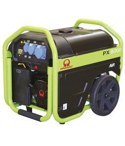 PX8000 Ηλεκτρο - Γεννήτρια Βενζίνης 1-Φασική 5,0 kVA Ηλεκτρική εκκίνηση και χειροκίνητο πίνακα ελέγχου + AVR (αυτόματο ρυθμιστή τάσης) PRAMAC OHV PRAMAC