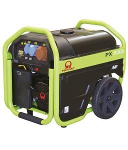 PX8000 Ηλεκτρο - Γεννήτρια Βενζίνης 3-Φασική 5,0 kVA Ηλεκτρική εκκίνηση και χειροκίνητο πίνακα ελέγχου + AVR (αυτόματο ρυθμιστή τάσης) PRAMAC OHV PRAMAC