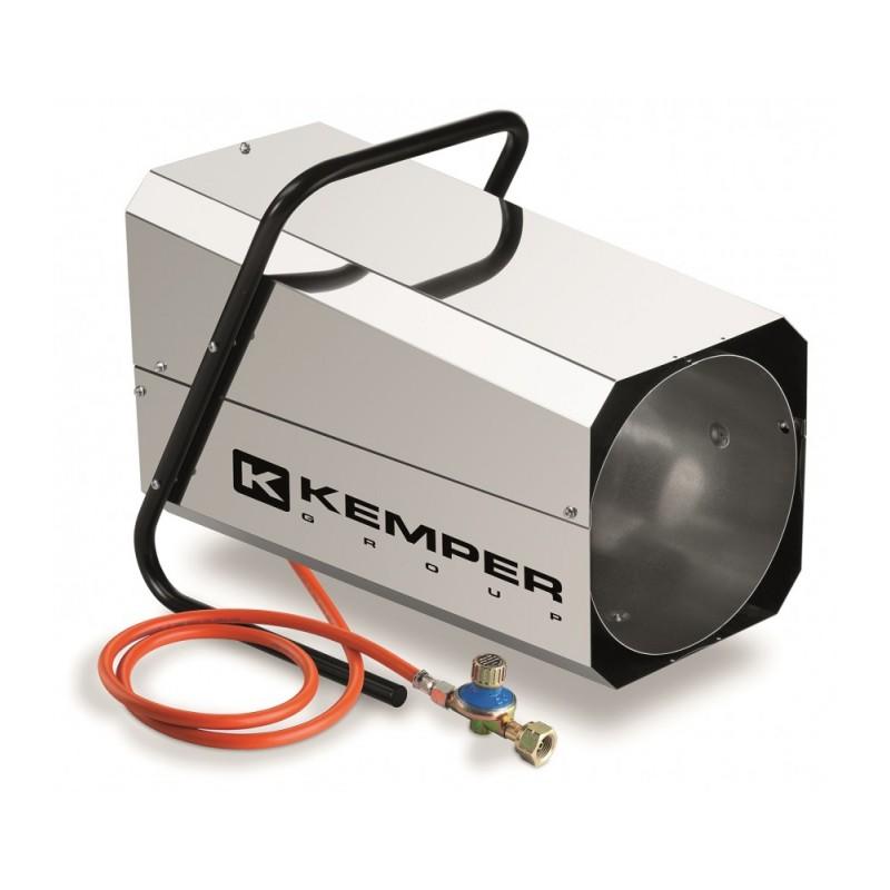 QT102RINOX Αερόθερμο προπανίου KEMPER