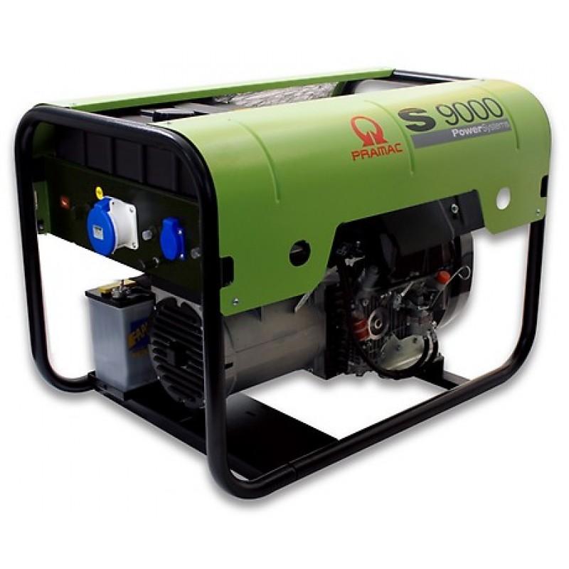 S9000 Ηλεκτρο - Γεννήτρια Πετρελαίου 3-Φασική 8,8 kVA Ηλεκτρική εκκίνηση και χειροκίνητο πίνακα ελέγχου με διαφορική προστασία έντασης (DPP) LOMBARDINI 25LD330 PRAMAC