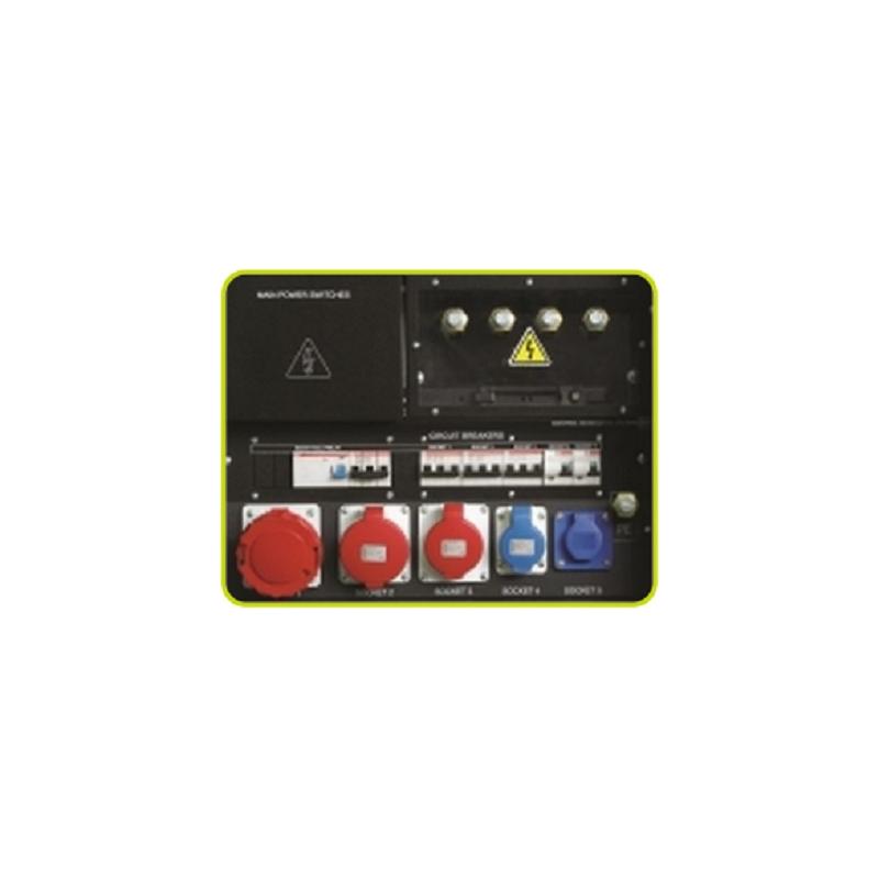 SKB Πρίζες σετ με μαγνητική θερμική προστασία (5 πρίζες) έκδοση ACP PRAMAC