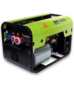 SP12000 Ηλεκτρο - Γεννήτρια Βενζίνης 3-Φασική 11,8 kVA Ηλεκτρική εκκίνηση και χειροκίνητο πίνακα ελέγχου + AVR Honda GX630 PRAMAC