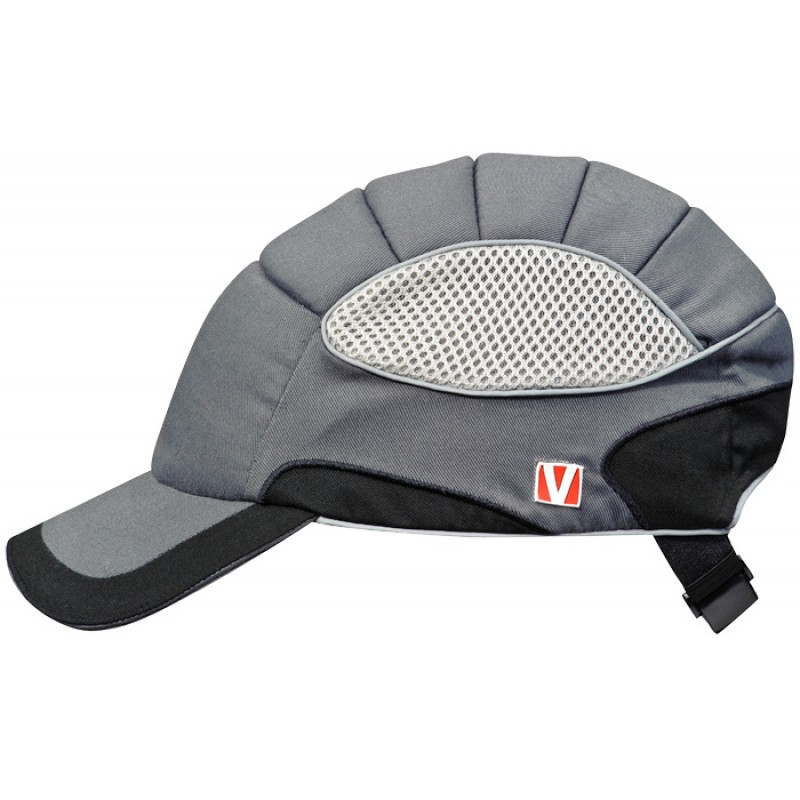 VOSS-Cap pro Καπέλο Ασφαλείας Ασημί Γκρί – Μαύρο RAL 7001 – 9017 VOSS