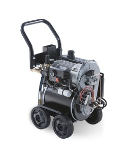 ZETA 120/7  Πλυστική μηχανή ζεστού - κρύου 120 bar  230V IDROMATIC